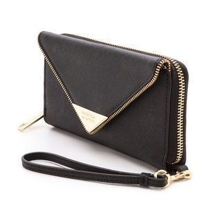Rebecca Minkoff Zoey Tech Wristlet in Black